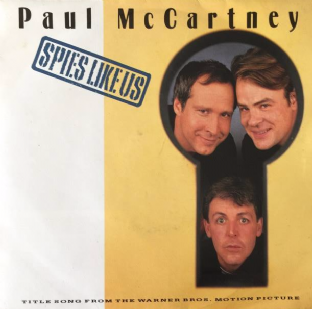 "Paul McCartney ‎- Spies Like Us (7"") (EX-/VG-)"
